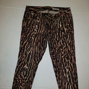 Ralph Lauren  Leopard jeans size 16